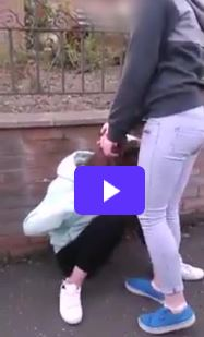 Scottish bully picks on young girl in brutal attack in ...